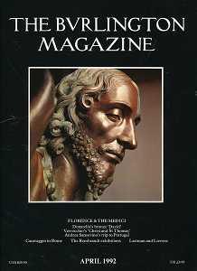 The Burlington Magazine , April 1992 ,