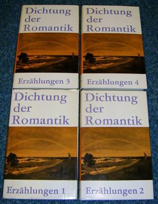 Dichtung der Romantik. Band 1-4 , (4 Bände)