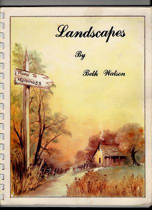Watson, Beth: Landscapes by Beth Watson.
