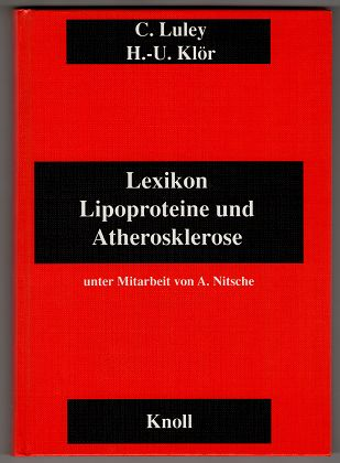 Lexikon Lipoproteine und Atherosklerose.