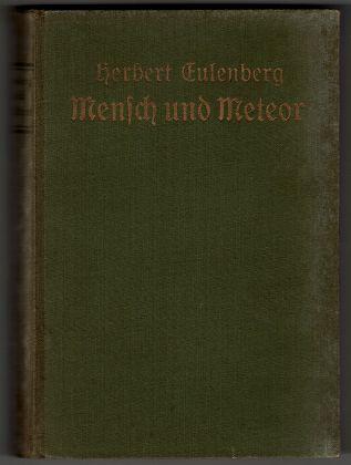Mensch und Meteor : Roman.