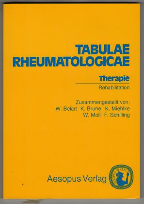 Tabulae rheumatologicae : Therapie, Rehabilitation.