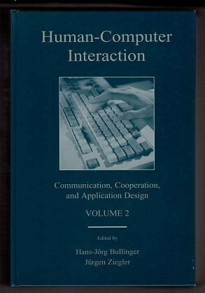 Human-Computer Interaction. Volume 2: Communication, Cooperation and Application Design. (LEA Series in Human Factors)