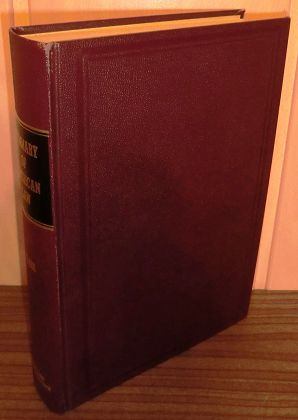 Summary of American law / George L. Clark ; With introduction by Roscoe Pound.