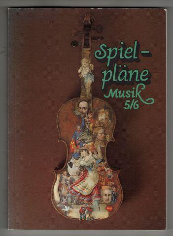 Spielpläne Musik, Ausgabe für Gymnasien, Bd.5/6, Schülerbuch: Für den Musikunterricht an allgemeinbildenden Schulen. 1. Aufl., 2. [Dr.]