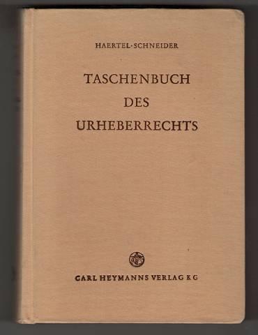 Taschenbuch des Urheberrechts.