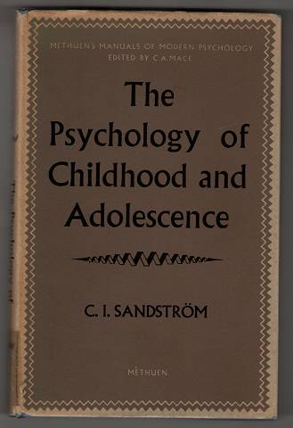 The Psychology of Childhood and Adolescence. Schriftenreihe: Manuals of modern psychology.
