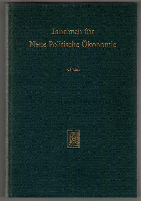 Boettcher, Erik und Philipp Herder-Dornreich: Jahrbuch für neue politische Ökonomie (3. Band)