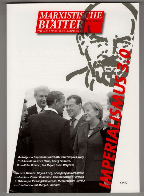 Marxistische Blätter. Heft 2-2011 - Imperialismus 3.0.