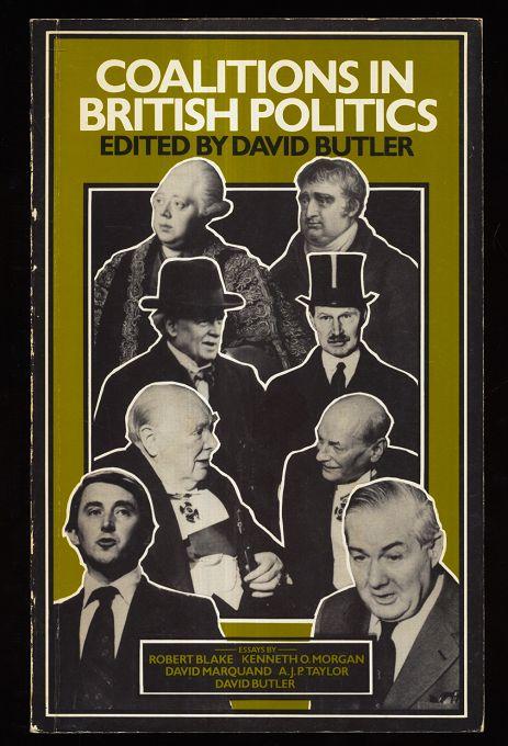 Butler, David: Coalitions in British Politics.