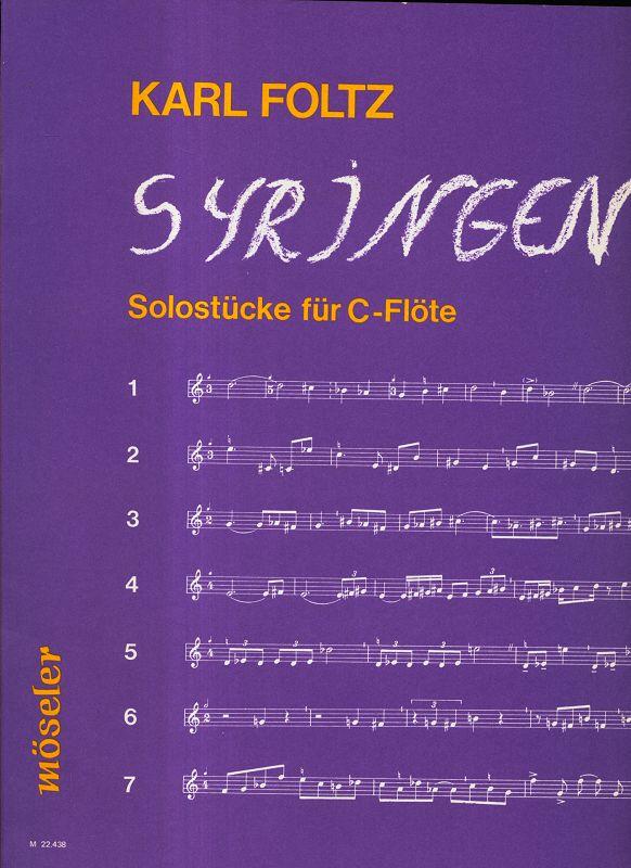 Syringen : Solostücke für C-Flöte.