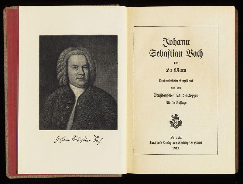 Johann Sebastian Bach. Kleine Musikerbiographien. 5. Aufl.,