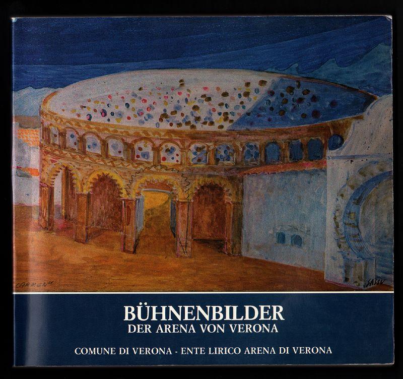 Bühnenbilder der Arena von Verona.