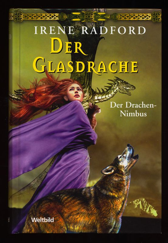 Der Glasdrache : 1. Teil Der Drachen-Nimbus Reihe.