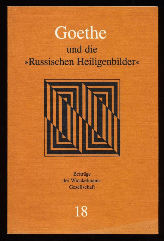 Effenberger, Arne: Goethe und die