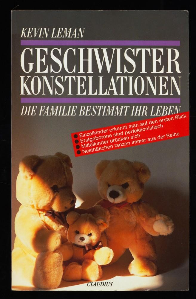 Geschwisterkonstellationen : Die Familie bestimmt Ihr Leben.