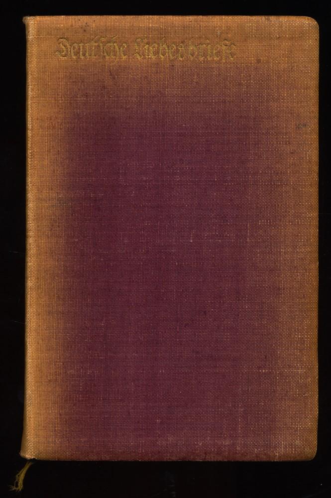 Zeitler, Julius (Hrsg.): Deutsche Liebesbriefe aus neun Jahrhunderten. 2. Aufl.,