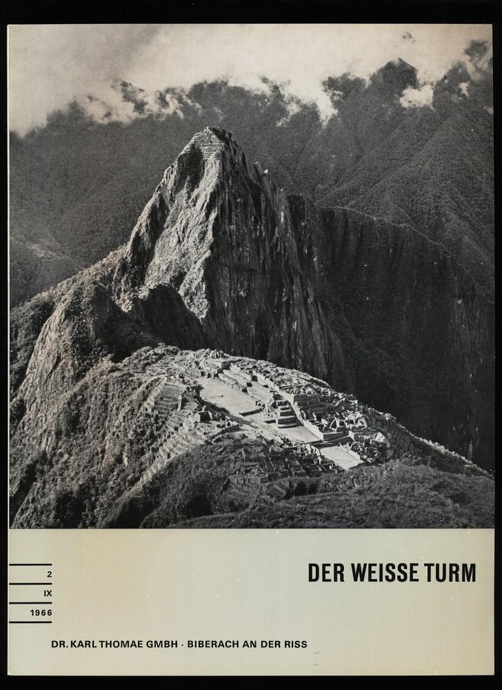 Der weisse Turm Nr. 2 / IX / 1966 : Eine Zeitschrift für den Arzt.