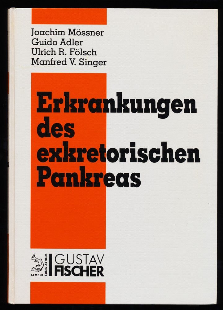 Erkrankungen des exkretorischen Pankreas : mit 94 Tabellen.