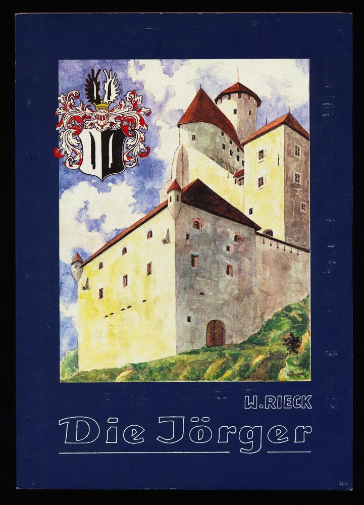 Rieck, Walter: Die Jörger : Ein historisches Drama über den Protestantismus zu Beginn des Dreißigjährigen Krieges in Österreich (3. Teil der Araburg-Trilogie) 1. Ausg.,
