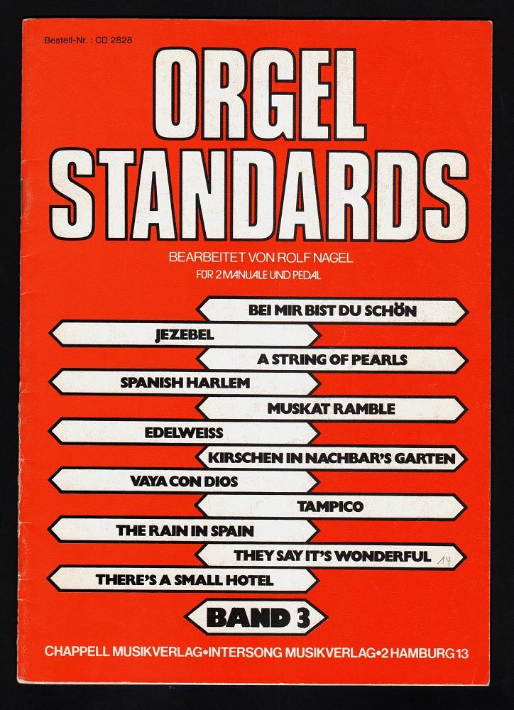 Orgel-Standards Band 3 für 2 Manuale und Pedal (Best.Nr. CD 2828)