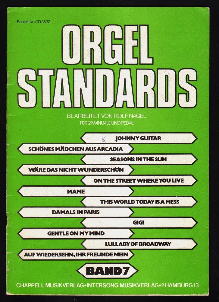 Orgel-Standards Band 7 für 2 Manuale und Pedal (Best.Nr. CD 2832)