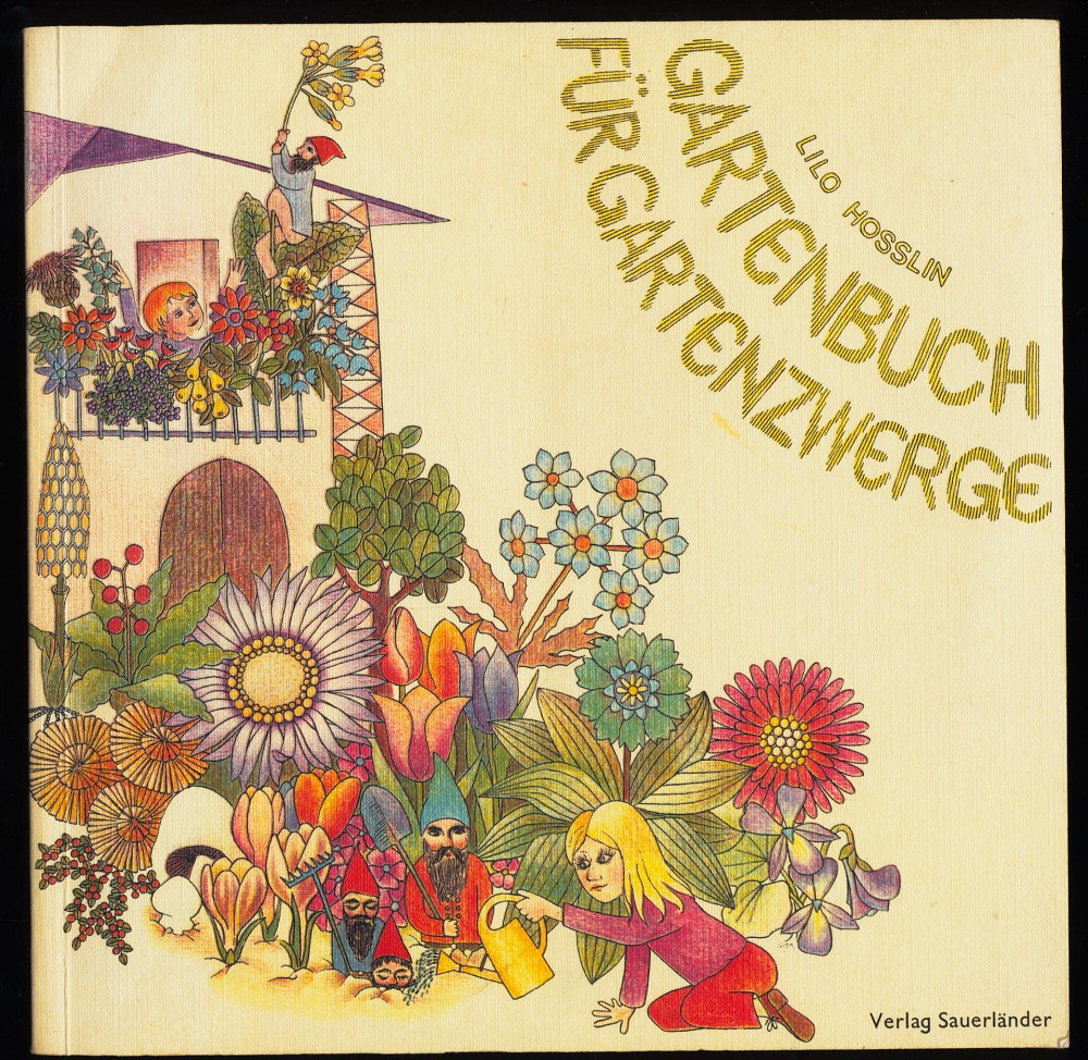 Gartenbuch für Gartenzwerge.