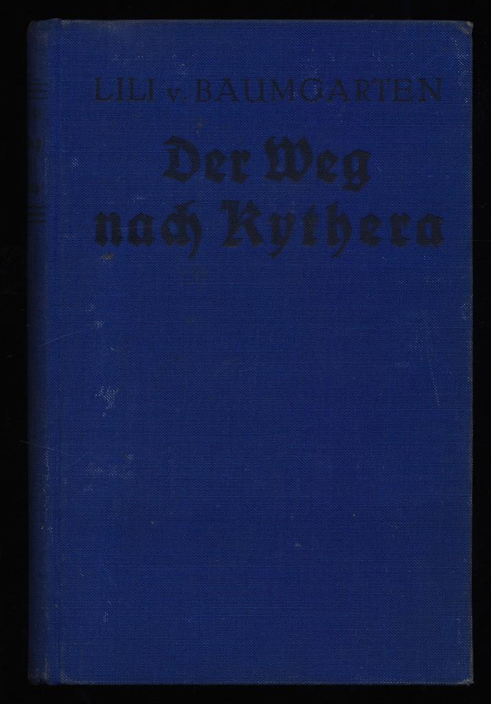 Der Weg nach Kythera : Roman.