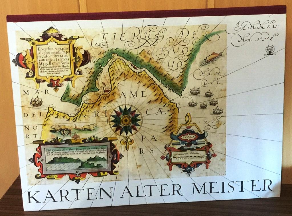 Karten alter Meister : 24 ausgewählte Reproduktionen, Farbendruck. 3. Aufl.,