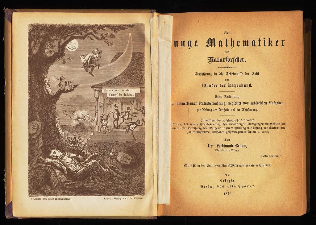 Der junge Mathematiker und Naturforscher : Einführung in die Geheimnisse der Zahl und der Wunder der Rechenkunst.