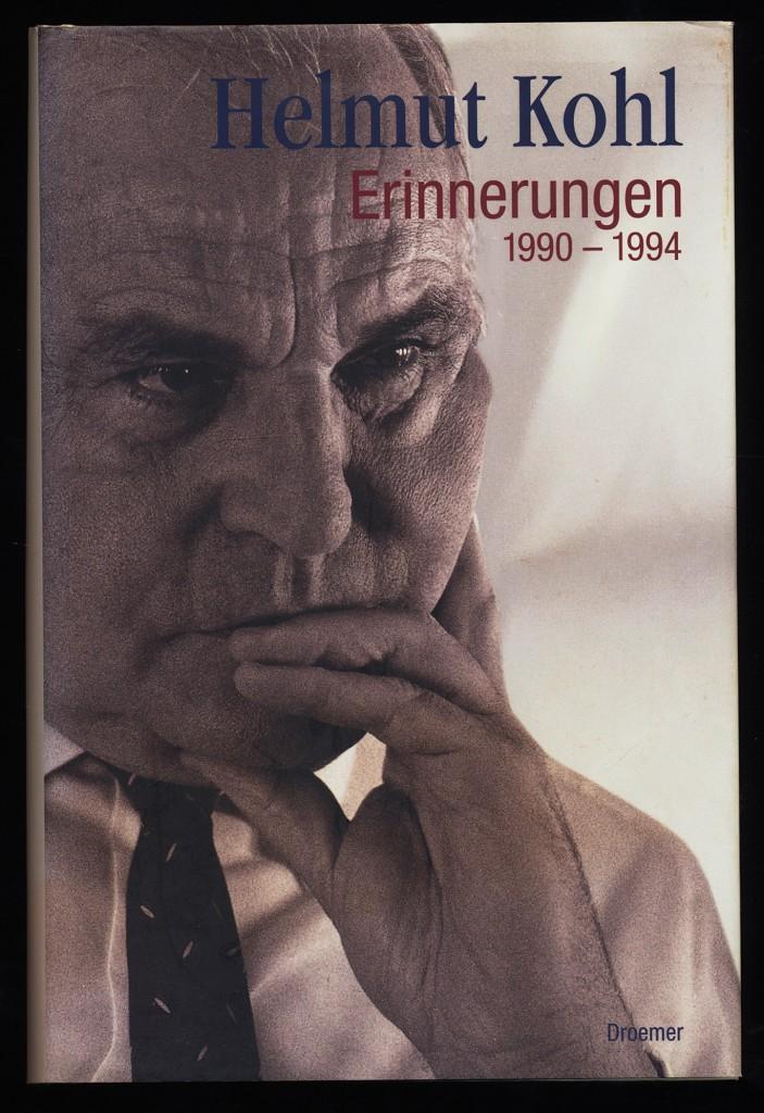 Kohl, Helmut: Helmut Kohl : Erinnerungen 1990 - 1994