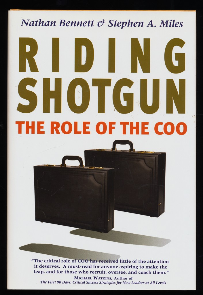 Riding Shotgun : The Role of the Coo.