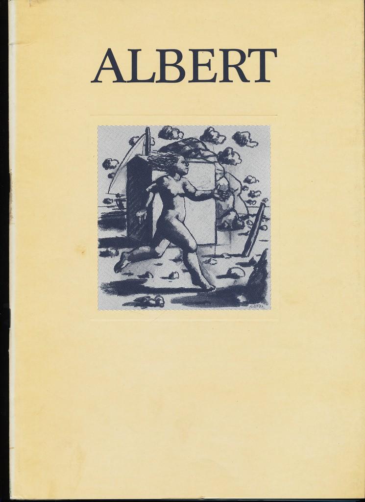 Hermann Albert : Bilder 1983 - 1984 , Raab-Galerie Berlin, Sander Gallery New York. Katalog 12/85