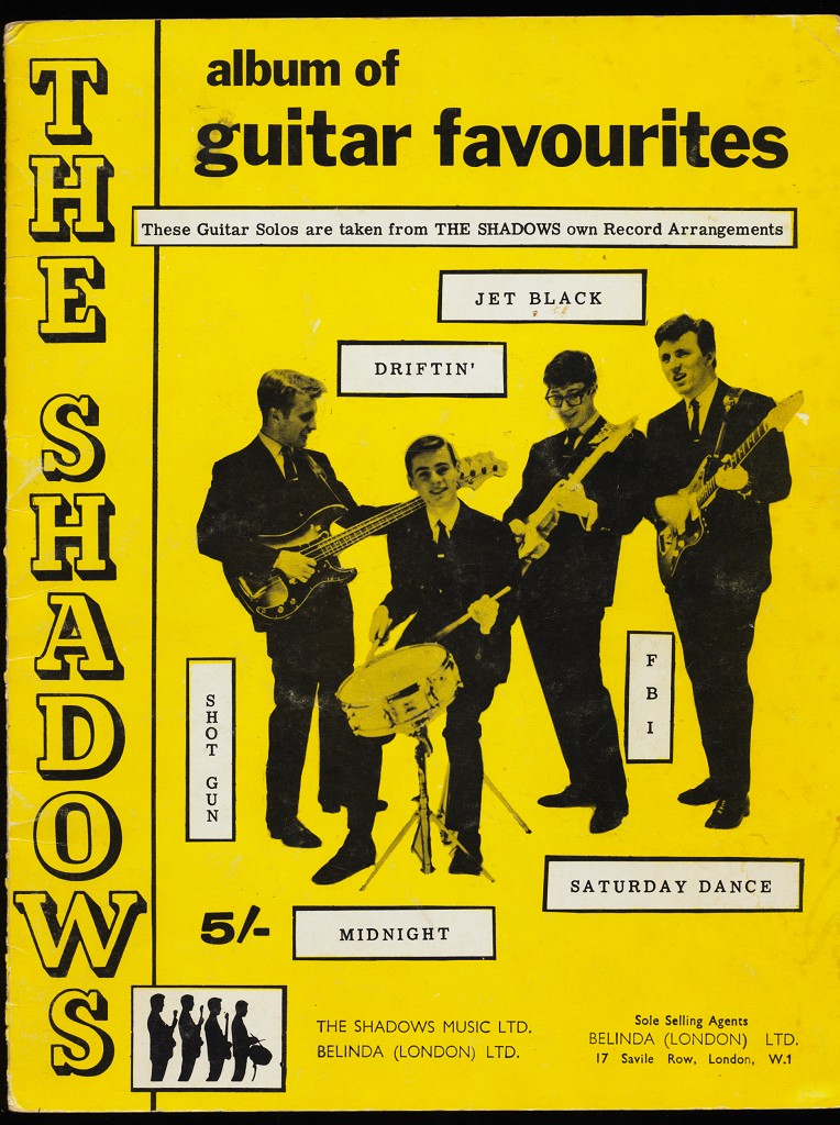 The Shadows album of guitar favourites : These Guitar Solos are taken from The Shadows own Record Arrangements.