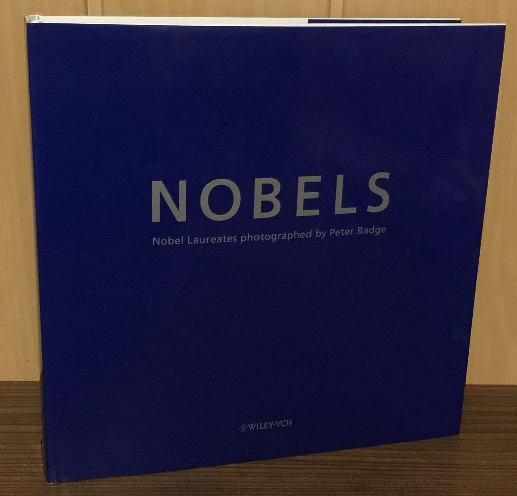 Nobels : Nobel laureates photographed by Peter Badge.