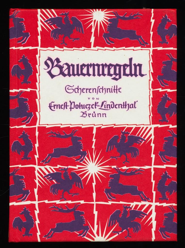 Bauernregeln. Scherenschnitte von Ernest Poluczek-Lindenthal, Brünn. 3. Aufl.,