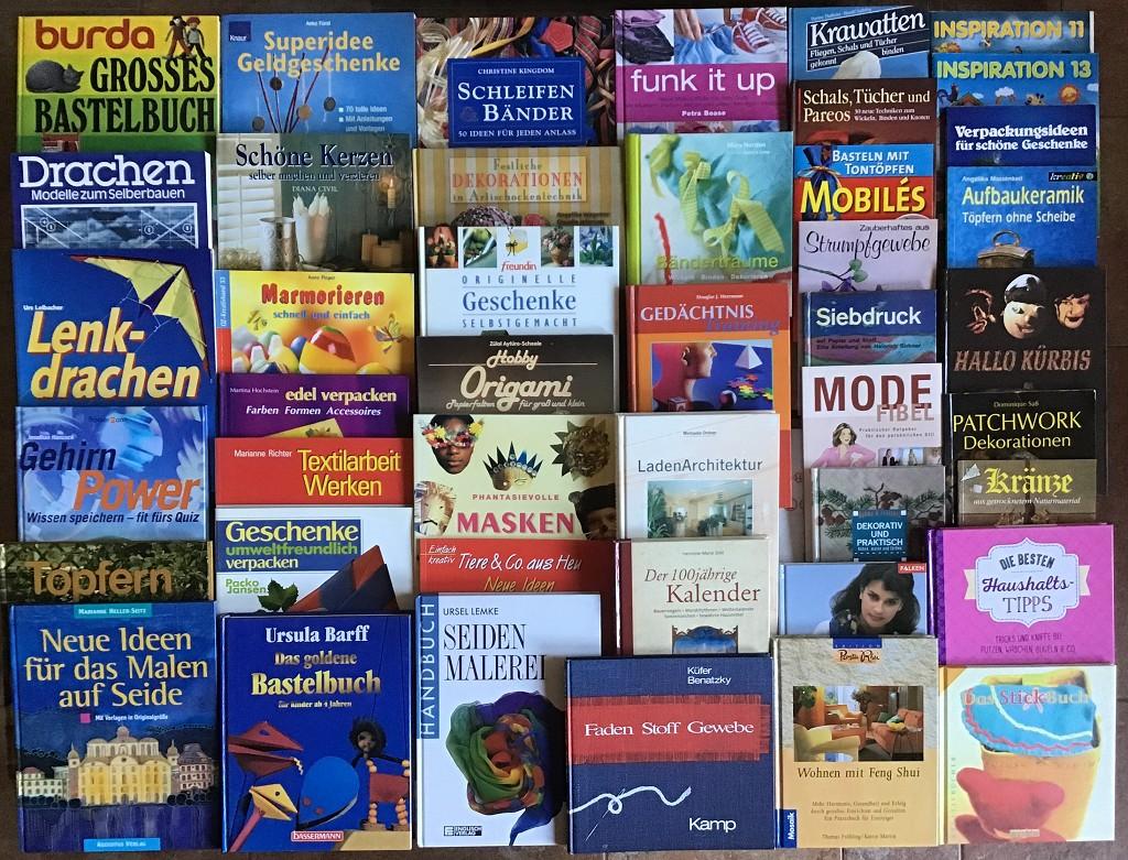 87 Bücher Heimwerker Spiele Freizeit Hobby Basteln Handarbeit Handwerk Haus Bauen