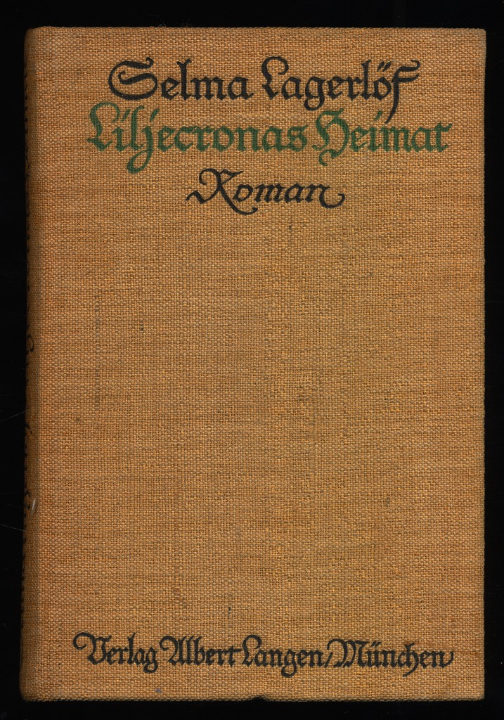 Liljecronas Heimat : Roman.
