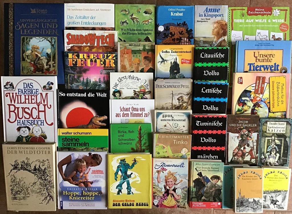 60 Kinderbücher Jugendbücher Kinderbuch Kinder Basteln Märchen Mädchen Paket