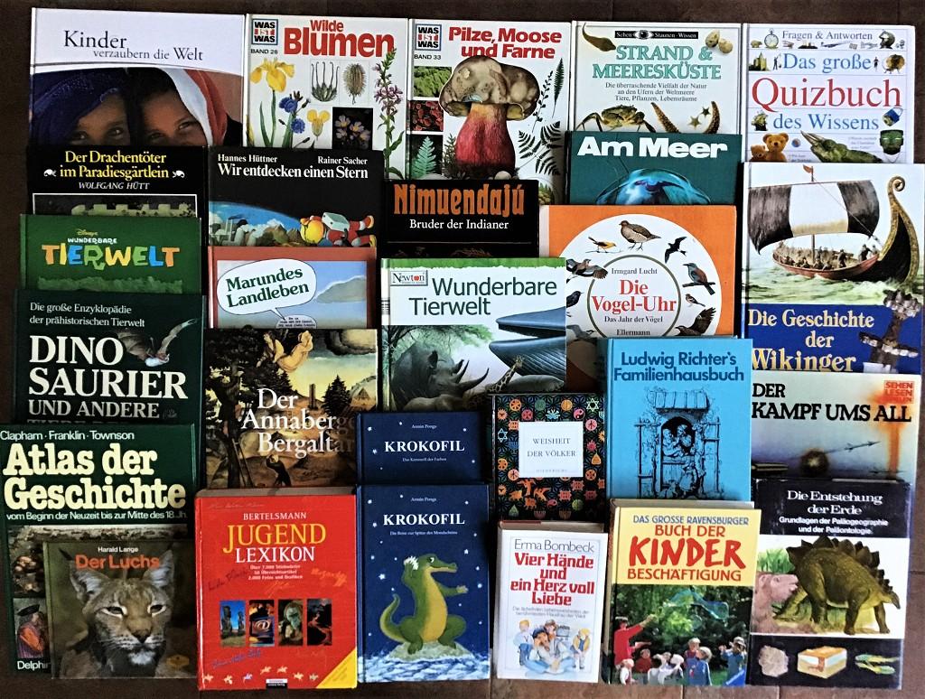 55 Kinderbücher Jugendbücher Kinderbuch Kinder Basteln Märchen Mädchen Paket