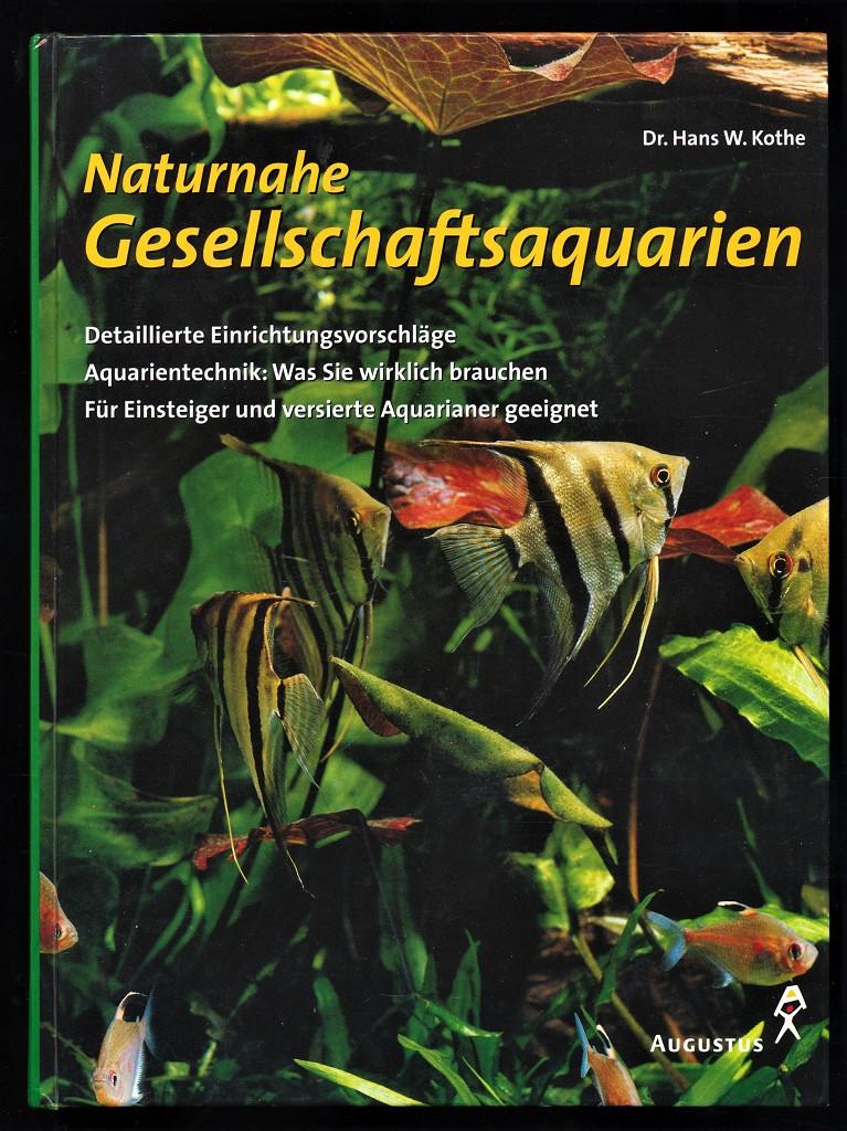 Naturnahe Gesellschaftsaquarien : Detaillierte Einrichtungsvorschläge, Aquarientechnik: was Sie wirklich brauchen. Für Einsteiger und versierte Aquarianer geeignet.