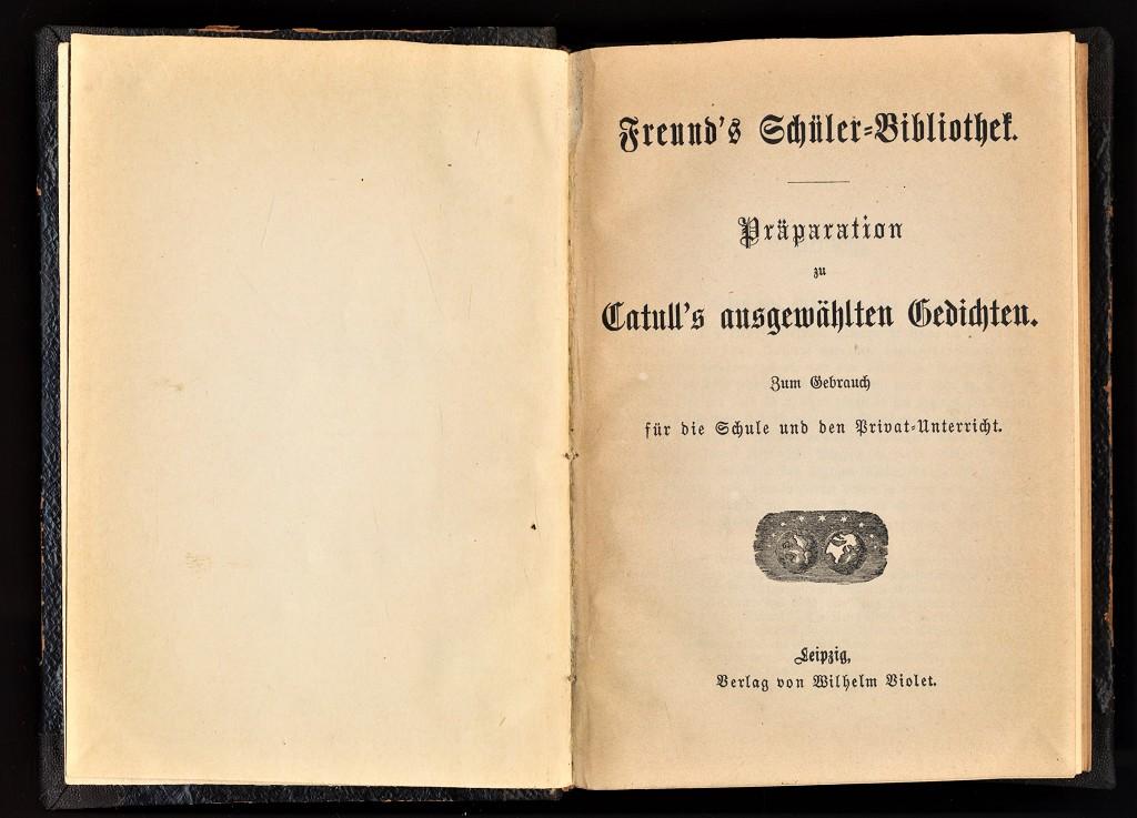Präparation zu Catull
