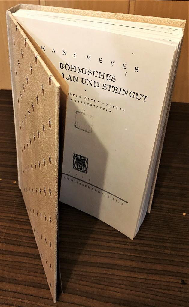 Böhmisches Porzellan und Steingut. Neudruck, Ablichtung (Reprint) [der Ausg.] Leipzig, Hiersemann 1927