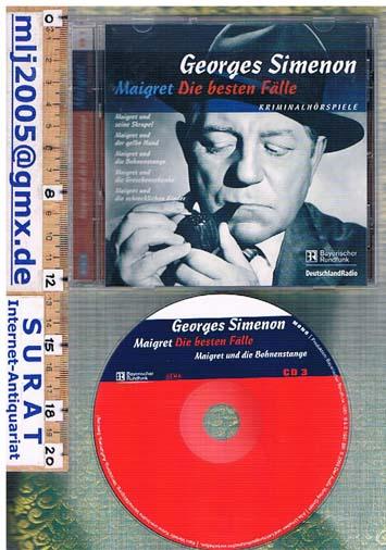 Maigret - Die besten Fälle. Maigret und die Bohnenstange. Kriminalhörspiel. CD 3 Mono, 59 Min. 8 Tracks.