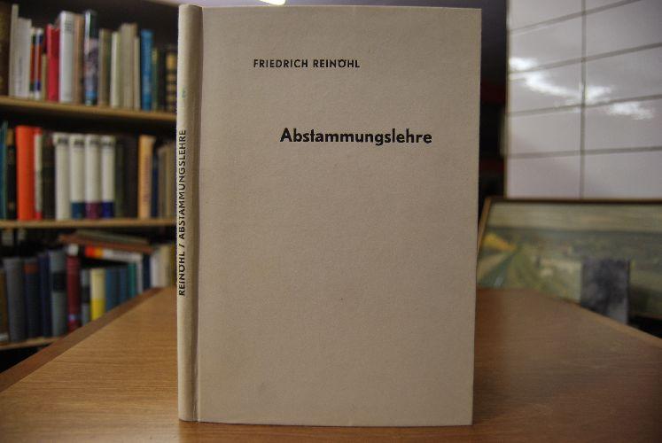 Abstammungslehre. Schriften des Deutschen Naturkundevereins/Neue Folge Band 11