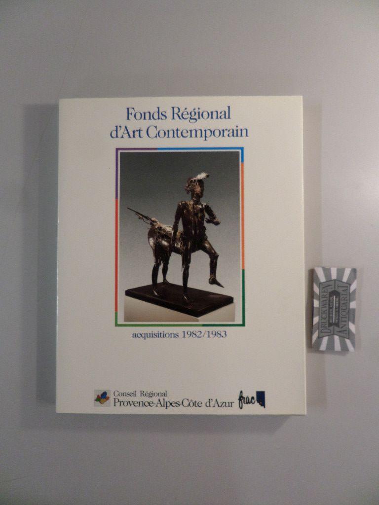 Fonds régional art contemporain. 1982 - 1983.
