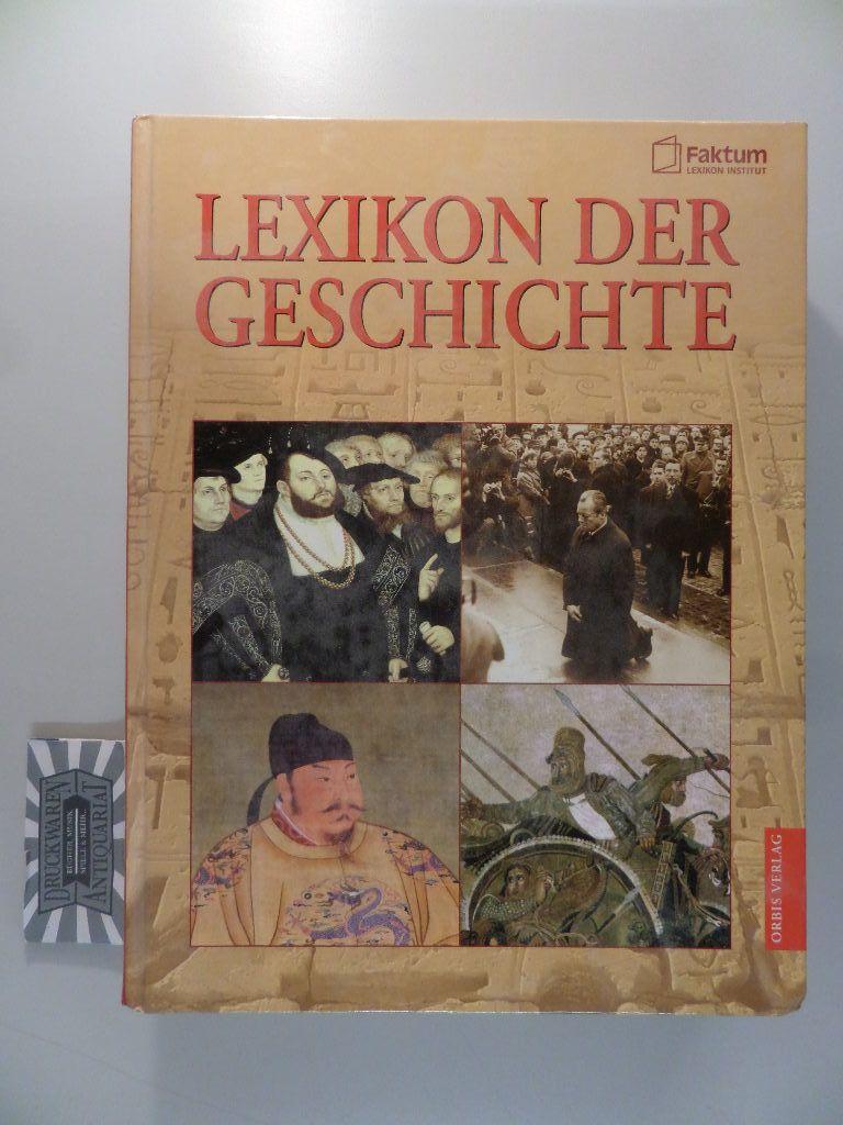 Lexikon der Geschichte. Aktualisierte Sonderausgabe.
