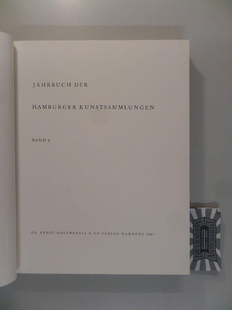 Jahrbuch der Hamburger Kunstsammlung Band 6.