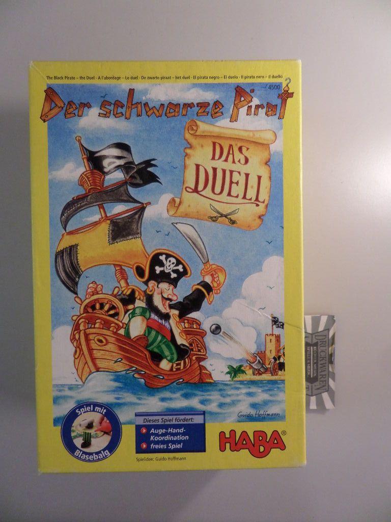 Der schwarze Pirat [Kinderspiel des Jahres 2006]. ACHTUNG! FÜR KINDER UNTER 3 JAHREN NICHT GEEIGNET!