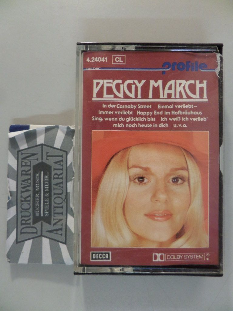 profile : Peggy March [Musikkassette].